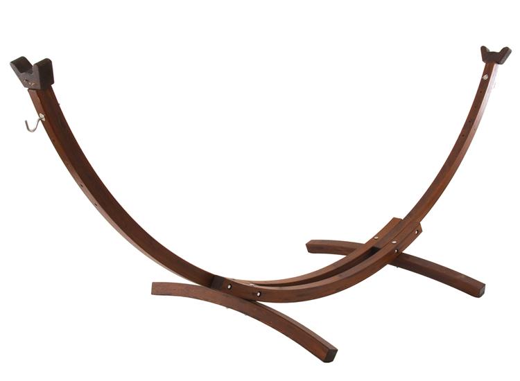 Drewniany stojak hamakowy 10S