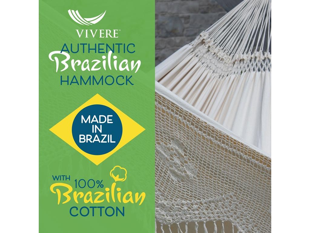 Hamak dwuosobowy Brazilian Elegant