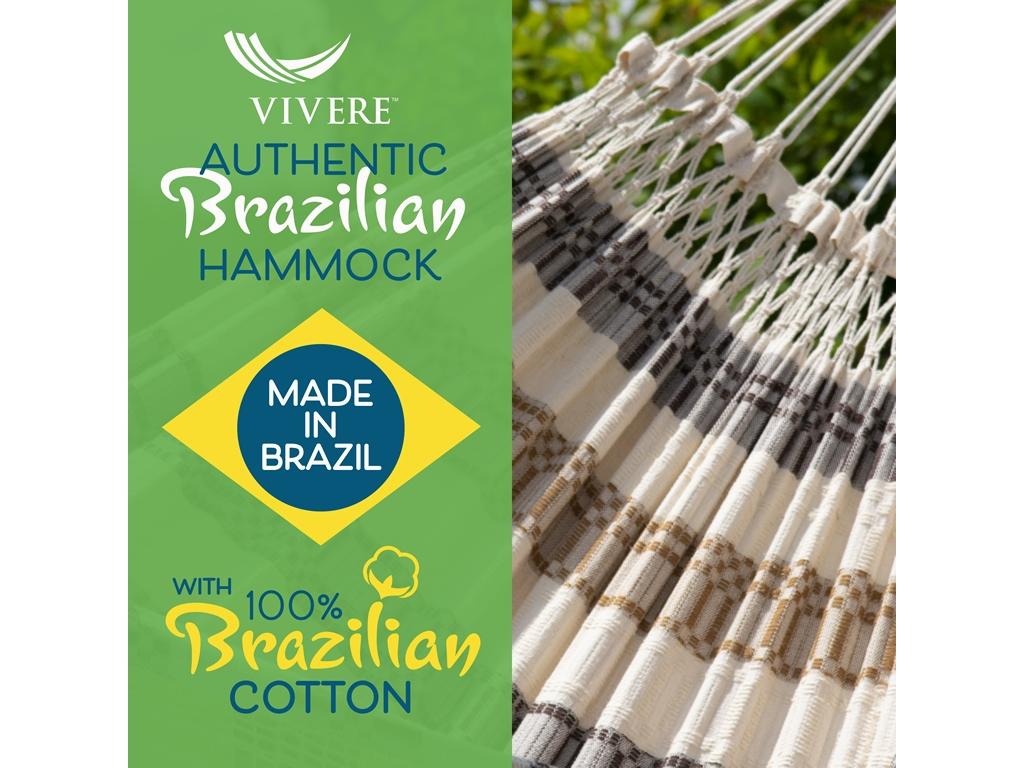 Hamak dwuosobowy Brazilian Luxury