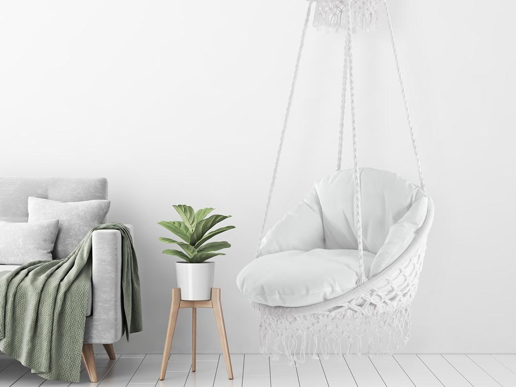 Wiszący fotel Deluxe Macrame